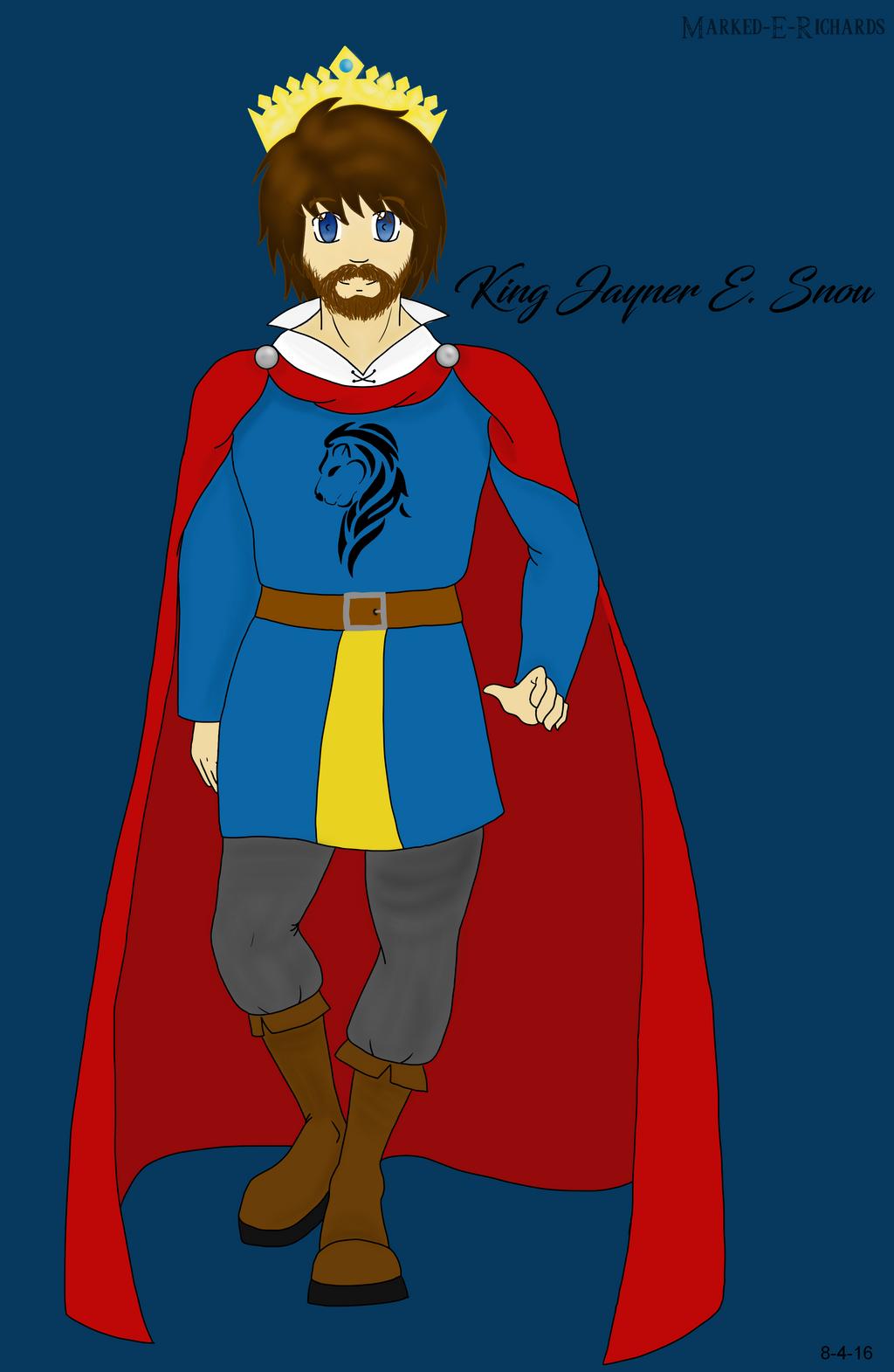 Morthderes: King Jayner E. Snow + Bio by EmpatheticMortalAnge