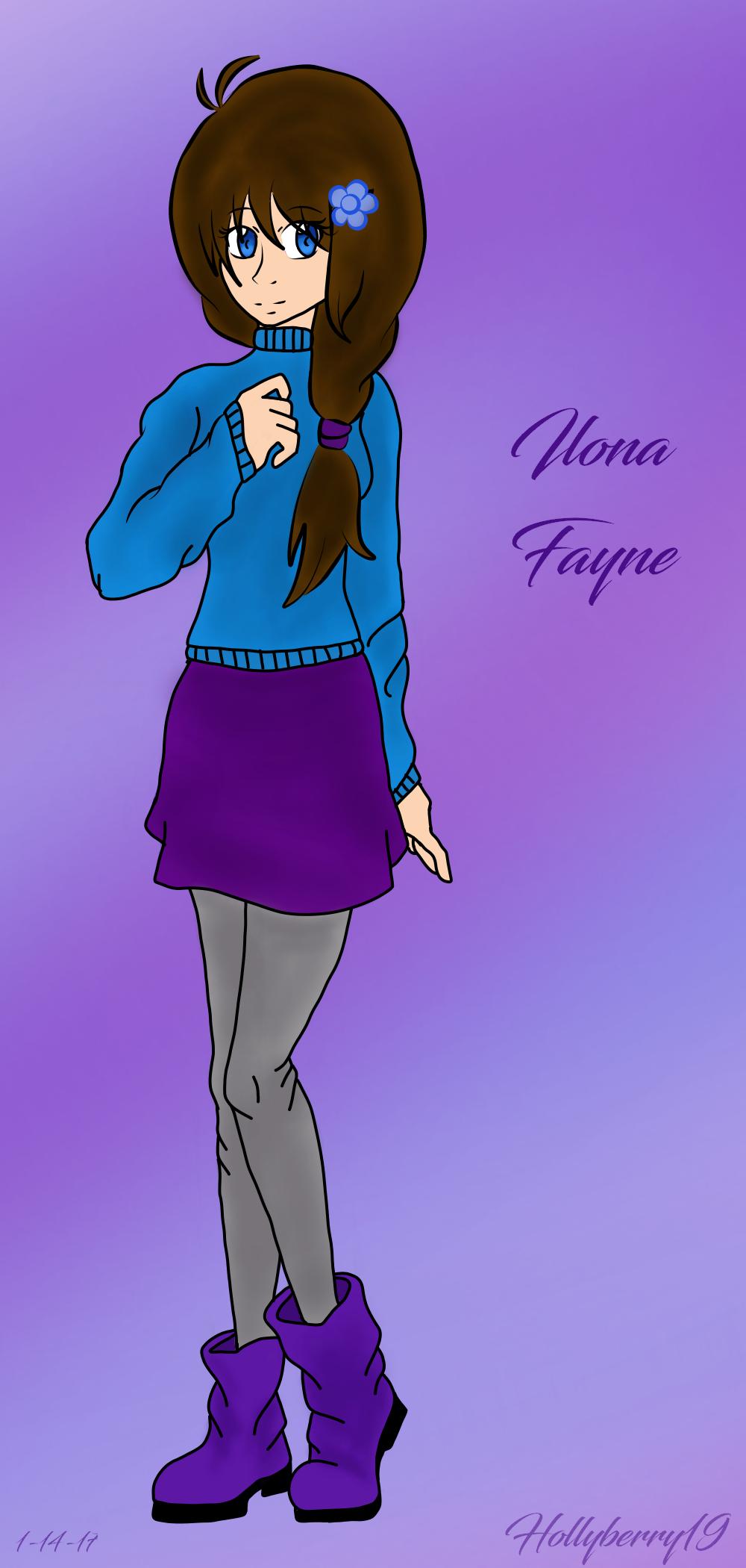 Modern day Ilona by EmpatheticMortalAnge