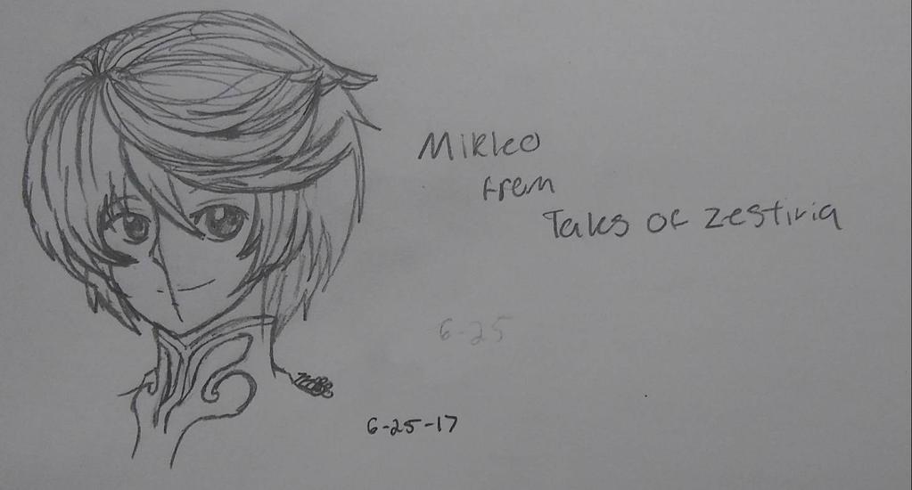 Mikleo from TOZ by EmpatheticMortalAnge