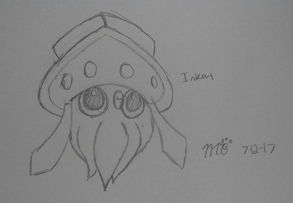Pokemon: Inkay by EmpatheticMortalAnge