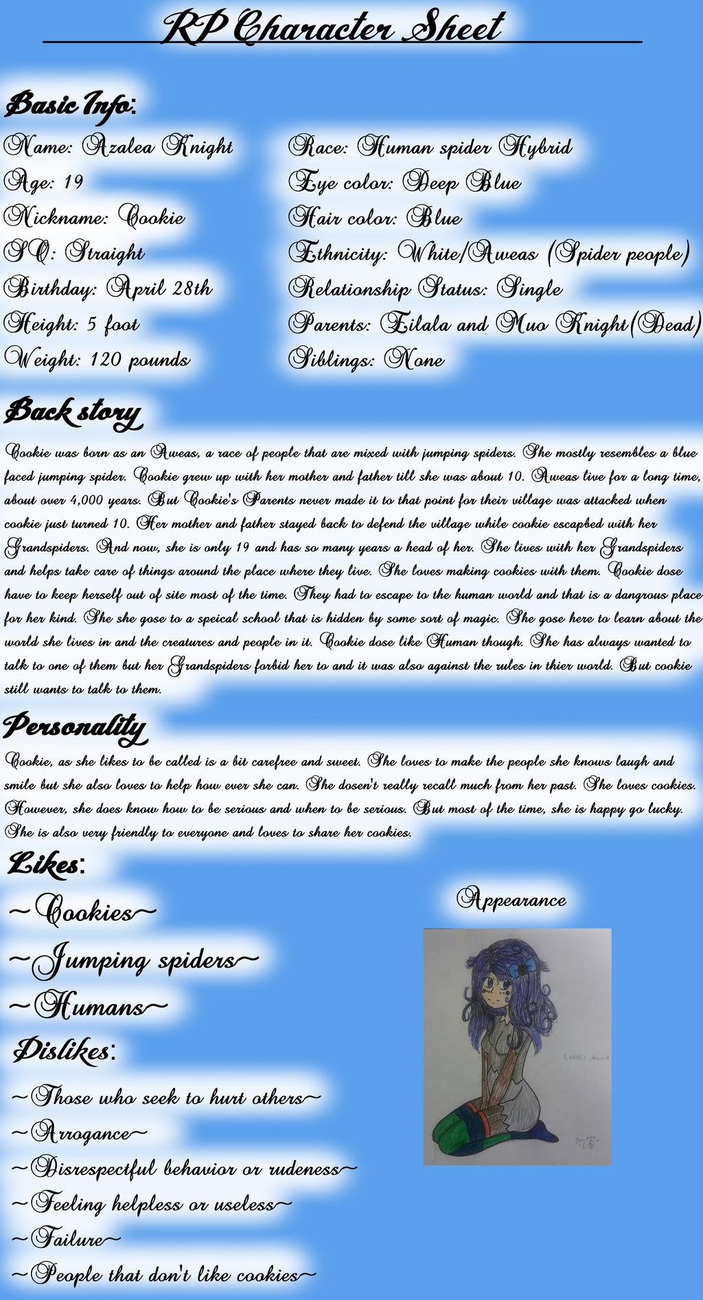 Azalea Info by EmpatheticMortalAnge