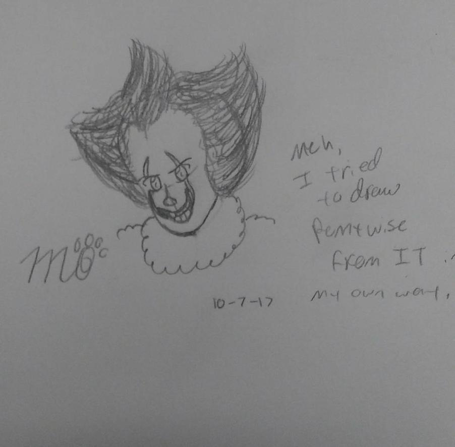 Fan art: Pennywise by EmpatheticMortalAnge