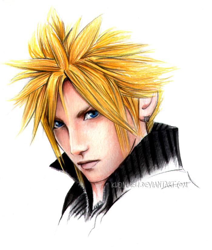 Final Fantasy VII   Cloud by kleinmeli Künstler  und Fotografen Feature: Kleinmeli