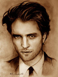 Robert Pattinson- GQ Cover by kleinmeli