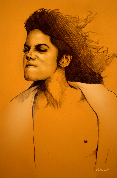 Michael Jackson by kleinmeli
