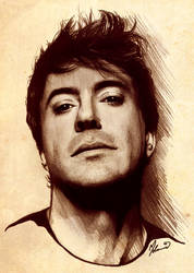 Robert Downey Jr. by kleinmeli