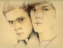 Supernatural Brothers - WIP1 by kleinmeli