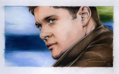 Colorful Dean Winchester