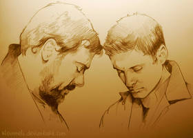 Father and Son by kleinmeli