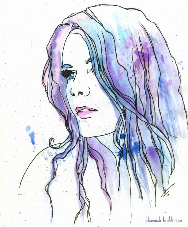 Feeling Blue by kleinmeli