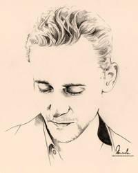 Loki Hiddleston by kleinmeli