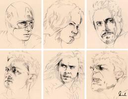 The Avengers by kleinmeli