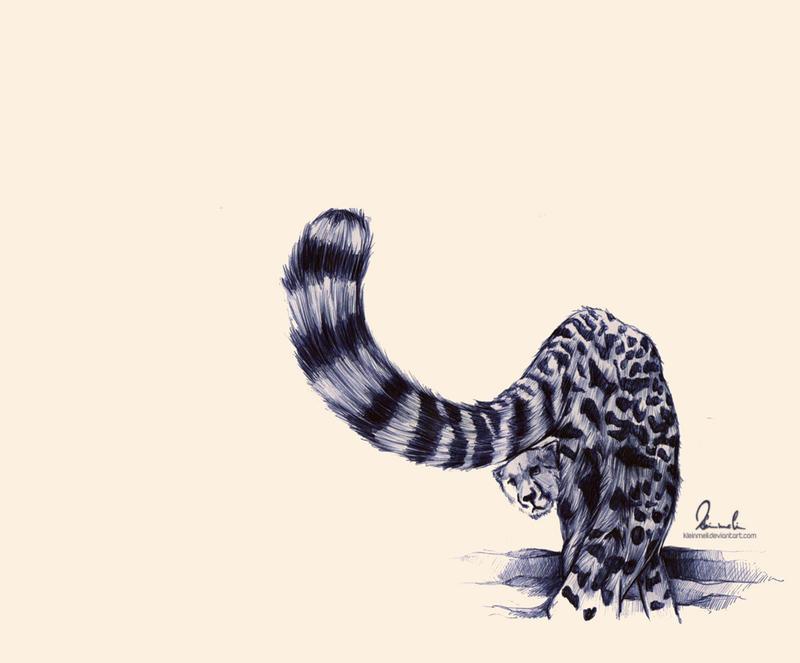 Ballpoint Pen - Cheetah by kleinmeli