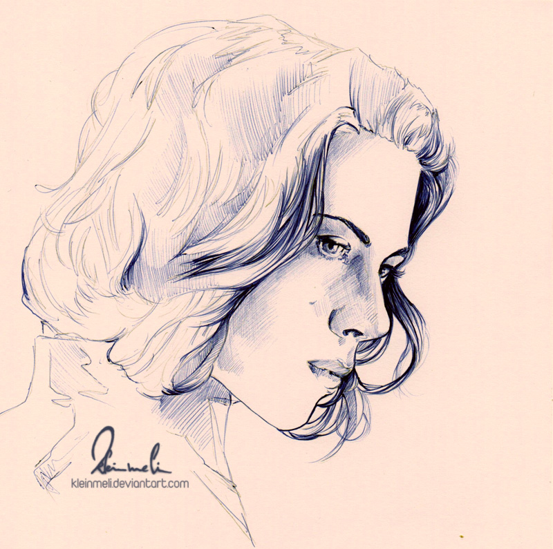 Ballpoint Pen Black Widow - WIP by kleinmeli