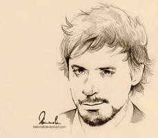Rough Sketch - Robert Downey Jr. by kleinmeli