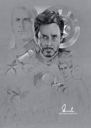 Civil War/Superfamily Poster - WIP 2