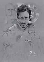 Civil War/Superfamily Poster - WIP 2