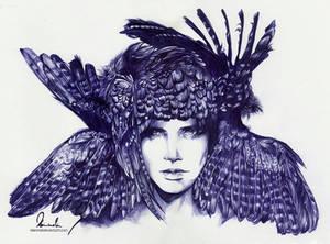 Ballpoint Pen Icarus