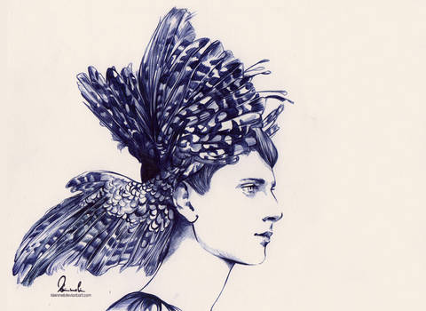 Ballpoint Pen Big Wings