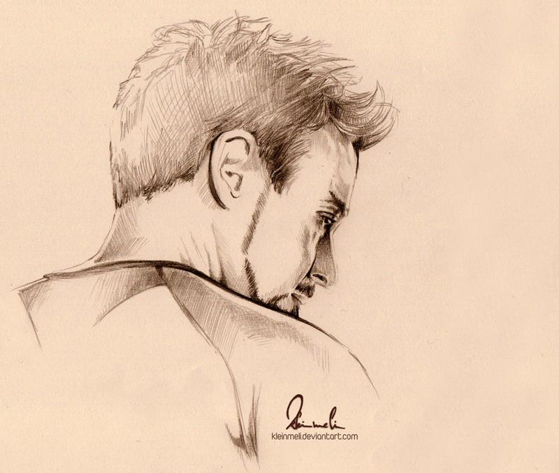 Tony Stark - Iron Man 3 by kleinmeli
