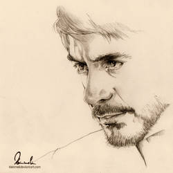 Tony Stark by kleinmeli