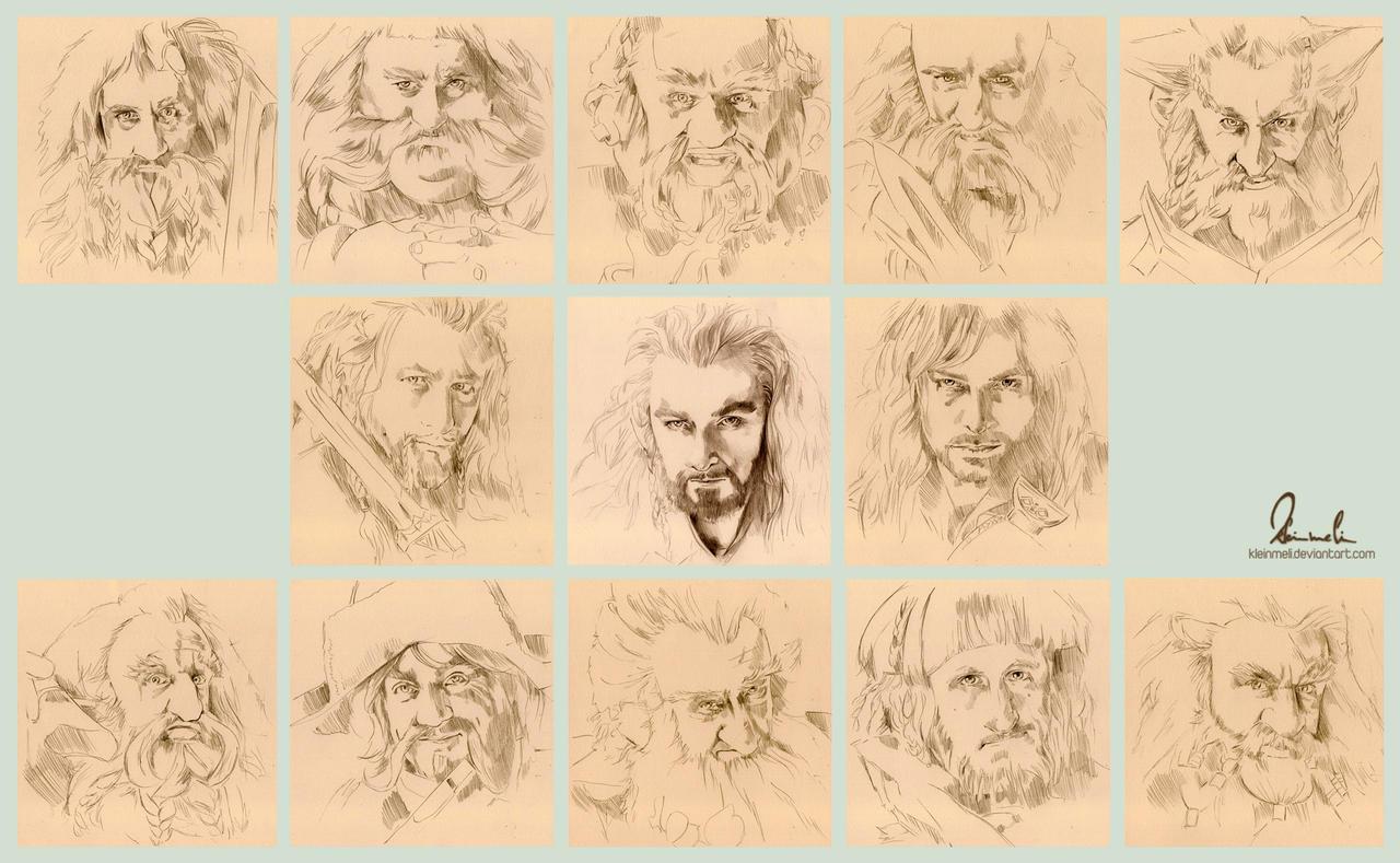 Dwarfs, Dwarfs Everywhere! by kleinmeli