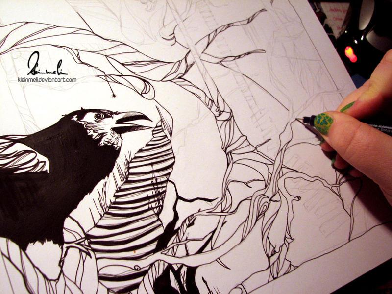 A Glimpse of Ink by kleinmeli