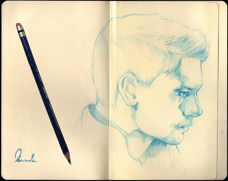 Sketchbook Jensen by kleinmeli