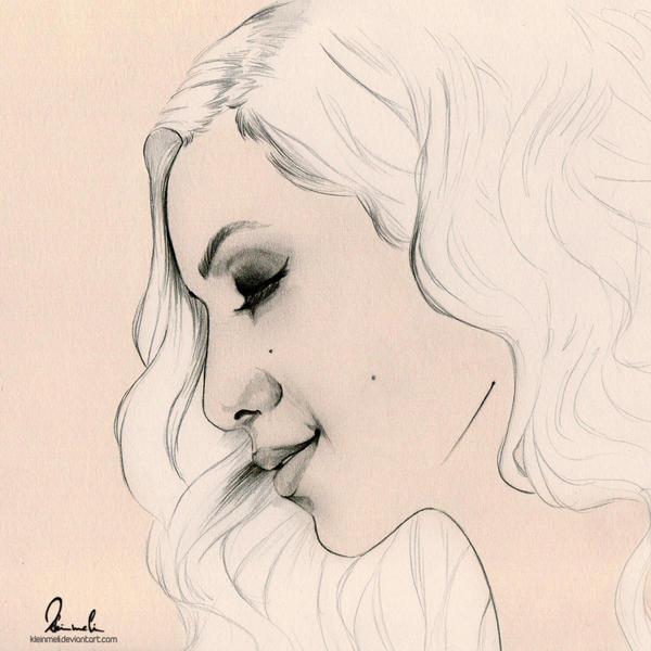 Pretty Lady by kleinmeli