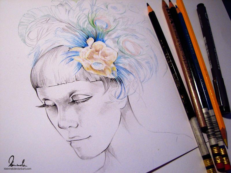 Featherhead - WIP by kleinmeli