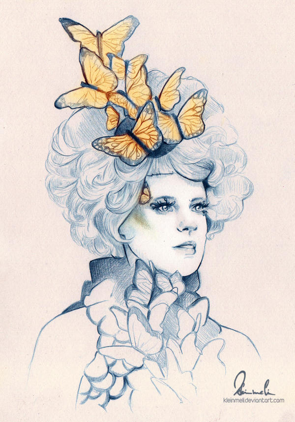 Effie Trinket by kleinmeli