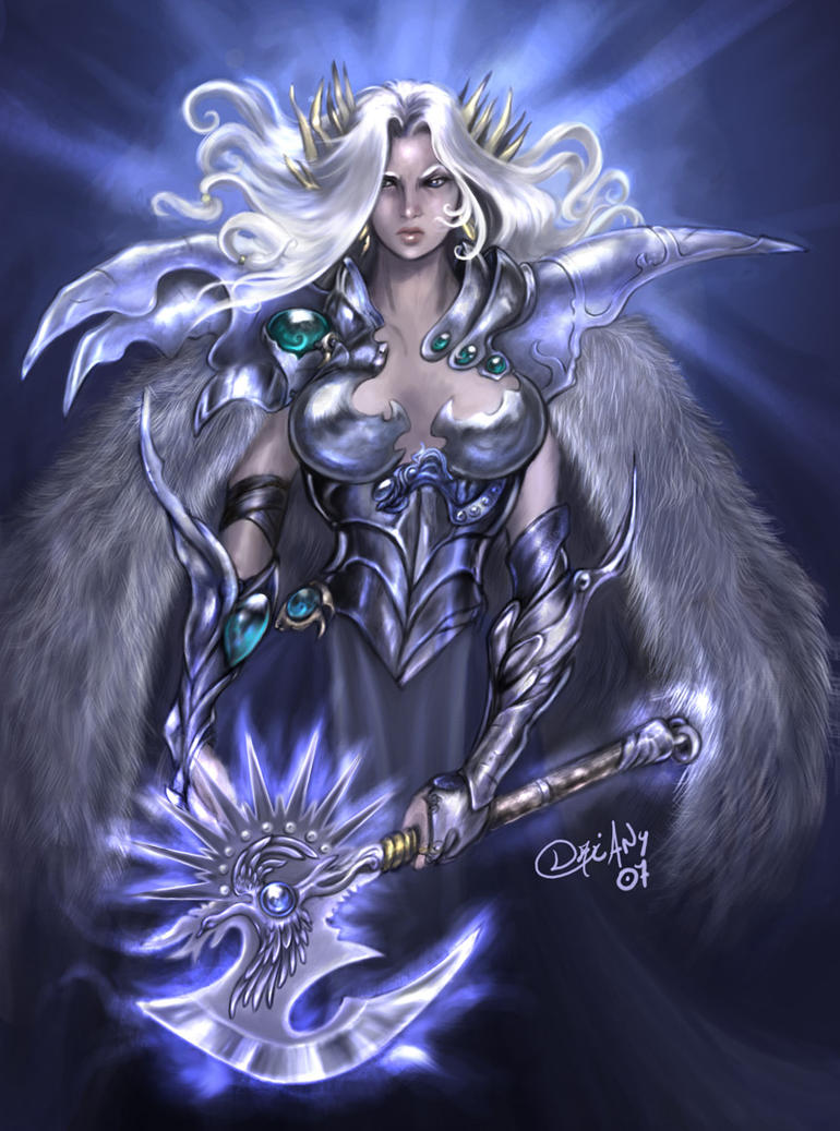 brunhilde the valkyrie by driany on deviantart