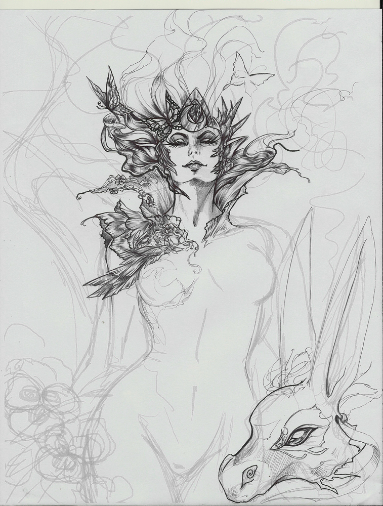 A Midsummer Night's Dream wip by driany
