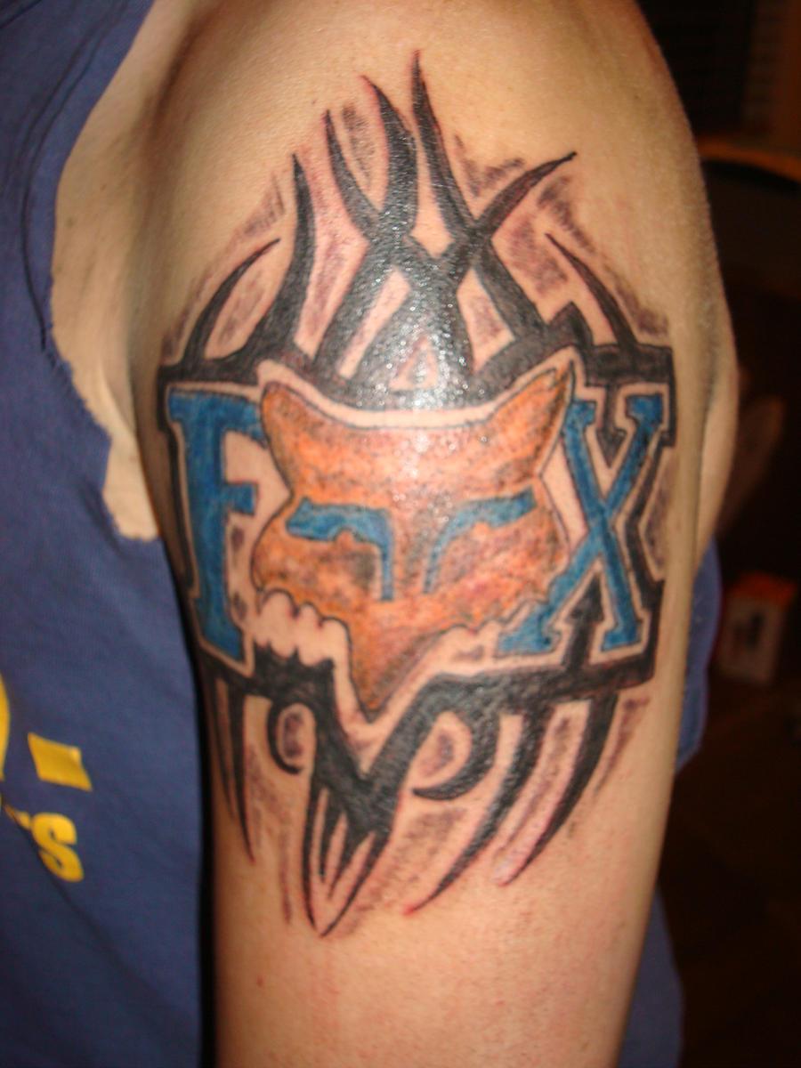 fox racing tattoo flash by robsweet on deviantart. Black Bedroom Furniture Sets. Home Design Ideas