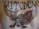 Eagle Back Piece