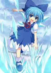 cirno by crossryou