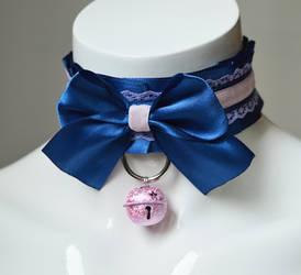 Dark blue collar - Little star