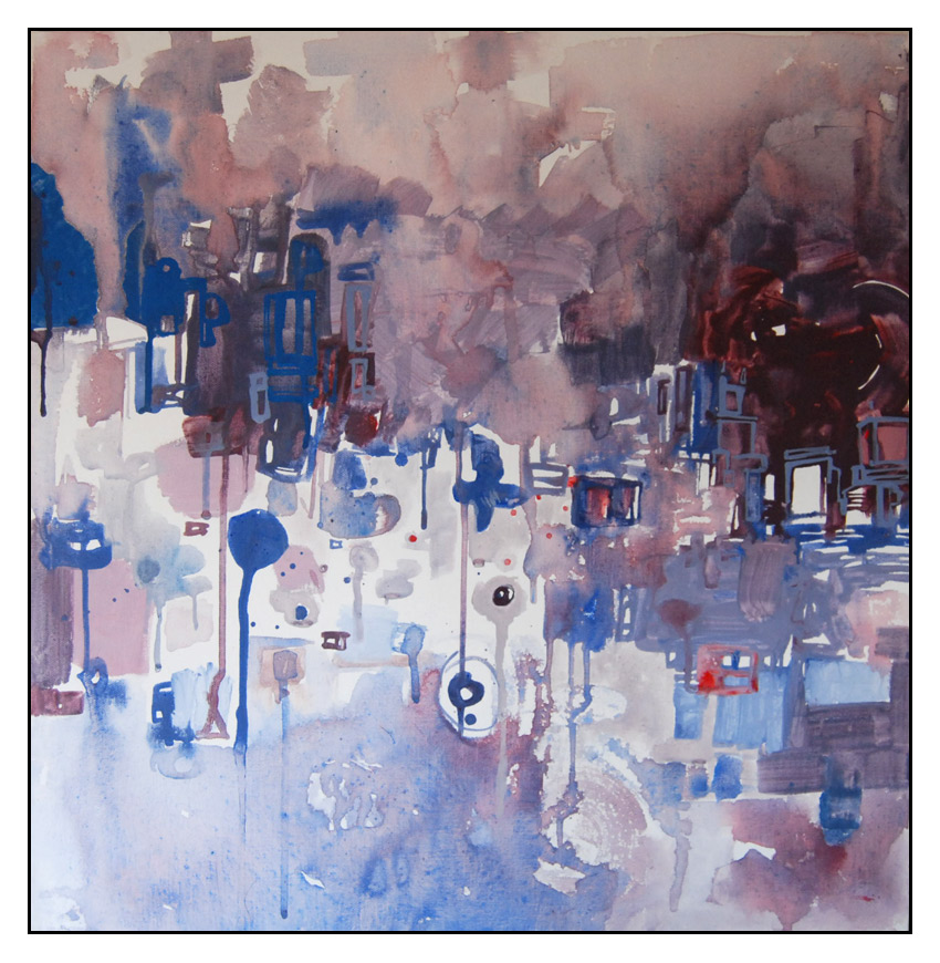 Filtered - Painting - 2008 by erkonom