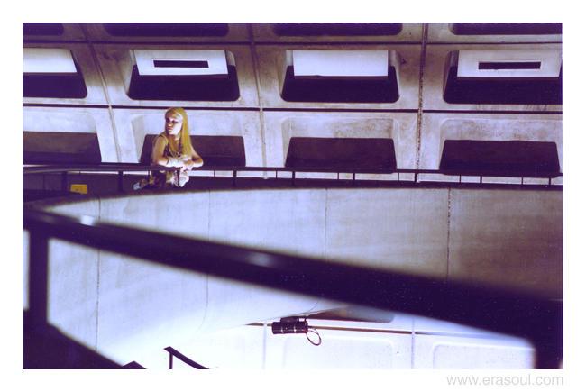 kristin in subway by erkonom