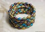 paper bracelet - Jewels of Qarth