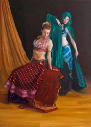 Two Dancers by LordSnooty