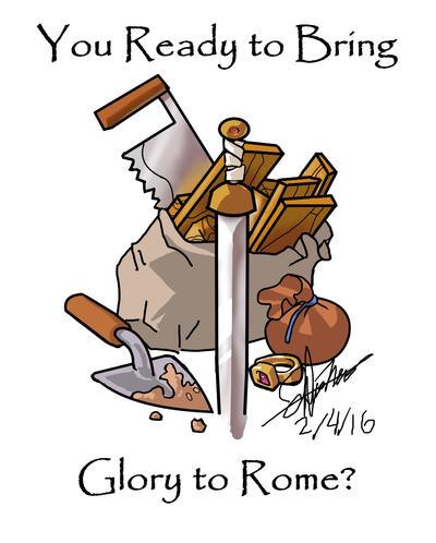 Glory to Rome fanart by JepMZ