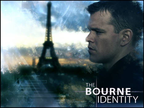 The Bourne Identity Desktop by TrentPraeger
