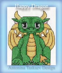 Happy Dragon by lovebiser