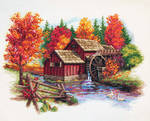 Autumn Glory by Dimensions