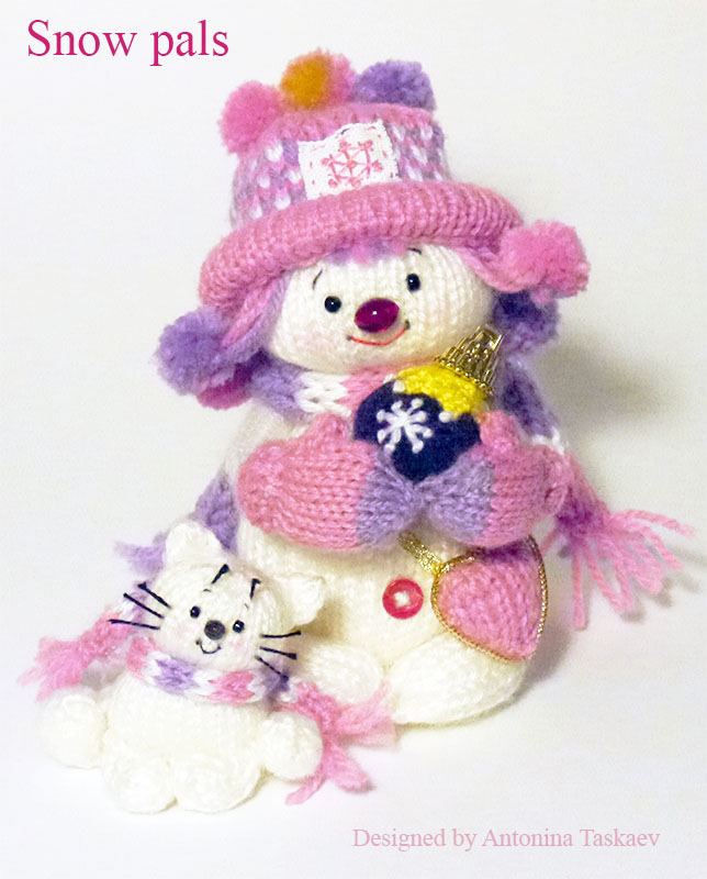 Snow pals by lovebiser