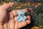 Little blue bear