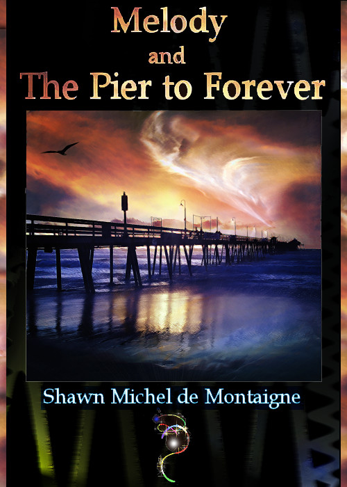 Melody and the Pier to Forever Book Cover by balthasarcraft