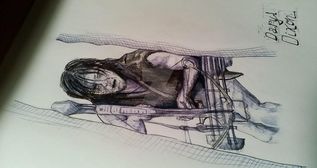 Daryl Dixon by JohanaJ