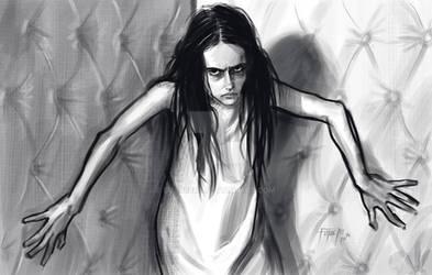 Penny Dreadful - Vanessa -Fast Sketch ( Eva Green)